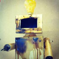 Coffee Robot by Evlisking