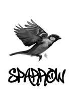 Sparrow3 by Evlisking