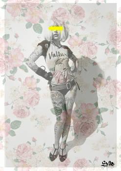 Blondie Tattooed by Evlisking