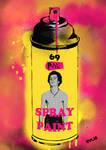 Sid Vicious spray can