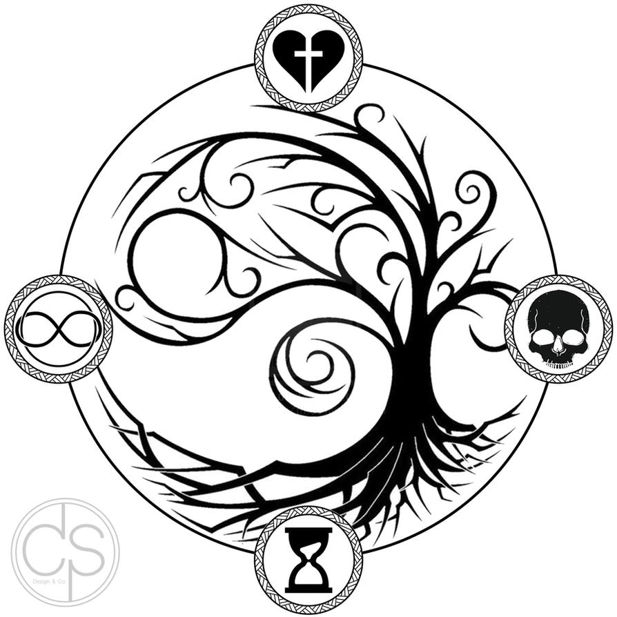 life death time eternal tattoo in memorial by csdesignandco on deviantart. Black Bedroom Furniture Sets. Home Design Ideas