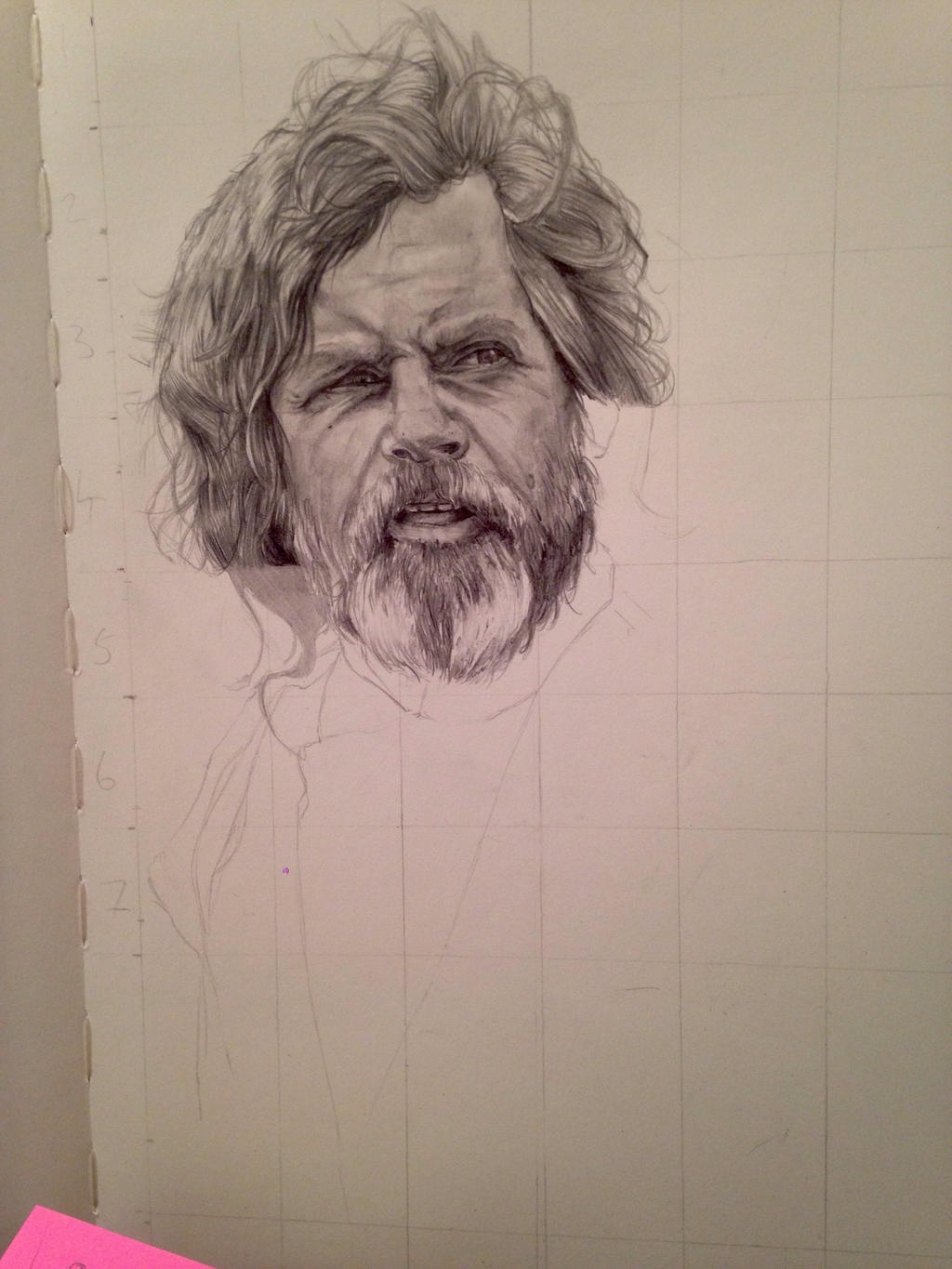 Old Luke WIP2 by MrJago