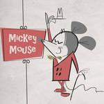 Mickey Mouse Circa 1955