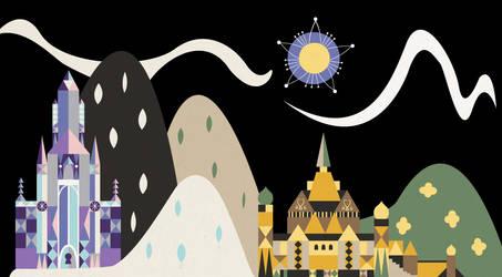Frozen: Castles by Lunamis