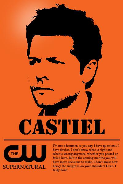 Castiel quote by callmemoronmangaka