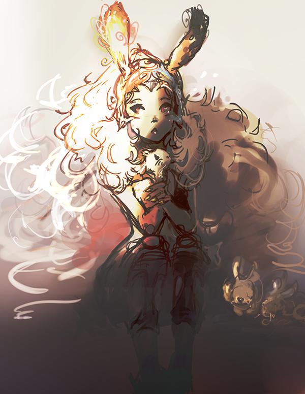 Bunny Fran by kaifuu