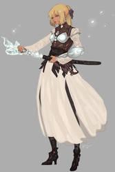 [CLOSED] Adoptable Crystal Warrior by kaifuu