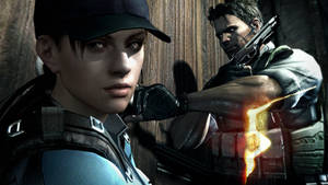 Re5 - Jill + Chris Wallpaper