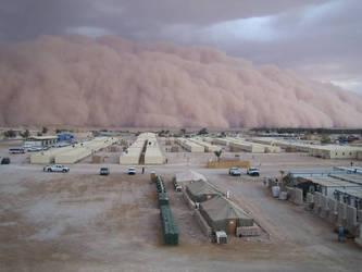 sandstorm by crochunterali