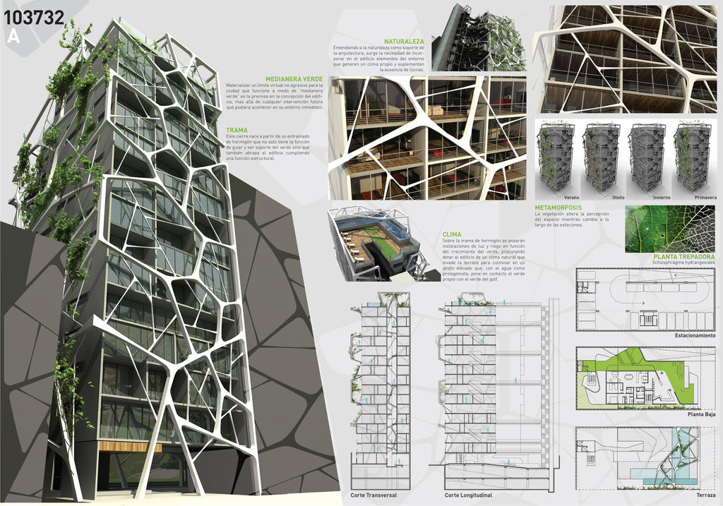 Architecture Competition 1-2 by AleFeanor on DeviantArt