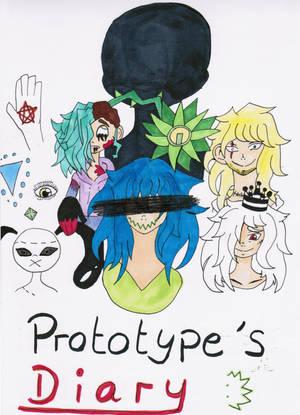 Prototypes Diary - cover - by UchihaSama224
