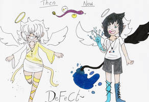 Defect - Then and now by UchihaSama224