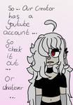 Youtube account... by UchihaSama224