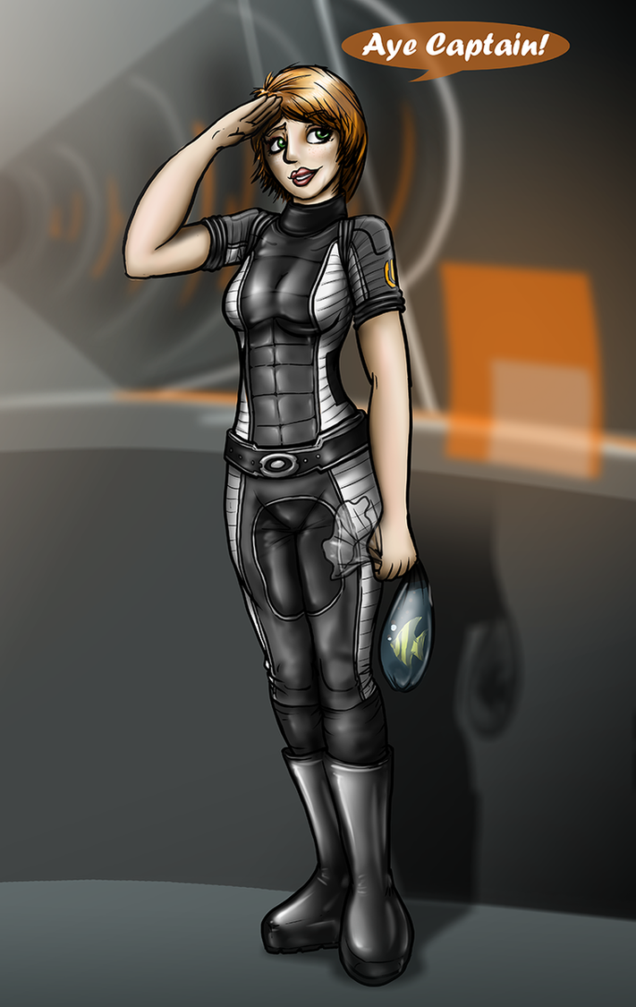 Mass Effect Kelly by Tommassey250