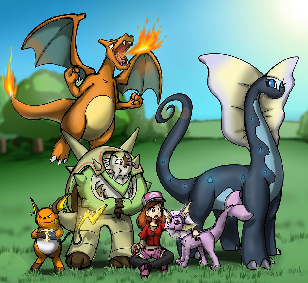 Pokemon Y Team by Tommassey250