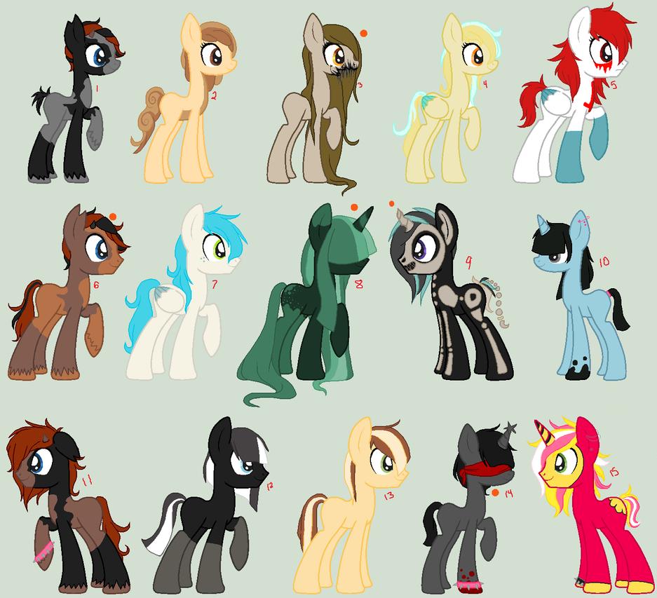Pony Sheet by mondobutt