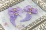 Deluxe Purple Pastel Wings with Stars by FKDemetri