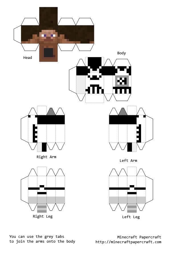 Papercraft Minecraft Skins Papercraft