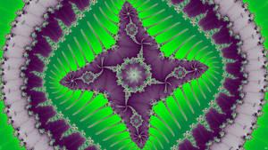 Worm Study2 star Green