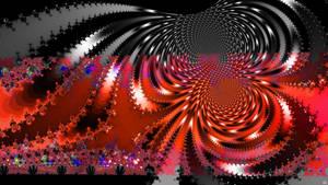 Swirls Inside the Volcano
