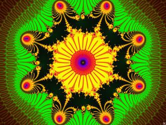 Jungle Scepter Mandala by FractalMonster