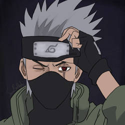 Kakashi of the sharingan