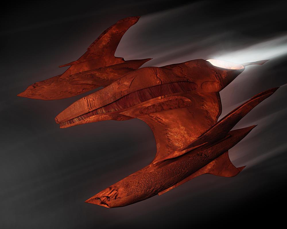 Alien Plane Draft by khesm