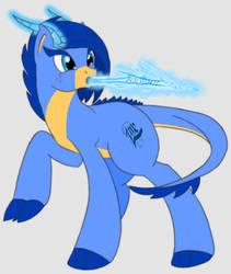 Lisbon Virgo, dragon pony by Rockbox1590