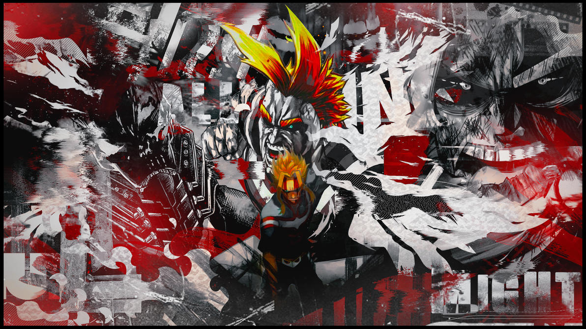 Wall All might by KurokoGraph