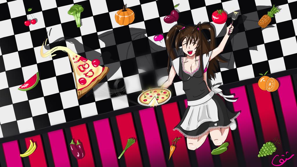 Wut wut pizza by NightKn8