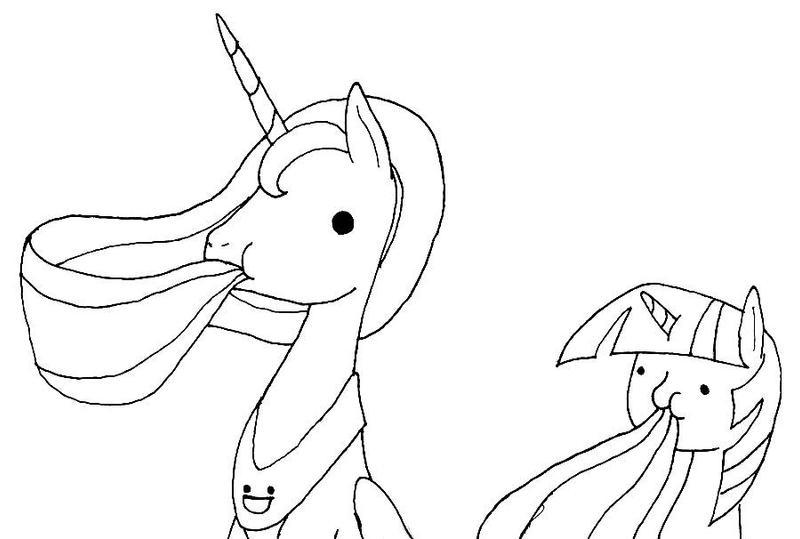 Princess munchies by EwoudCPonies
