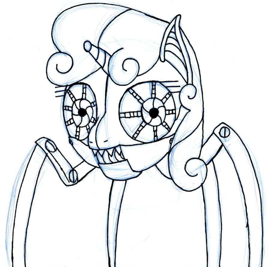 Sweetie Spider Bot by EwoudCPonies