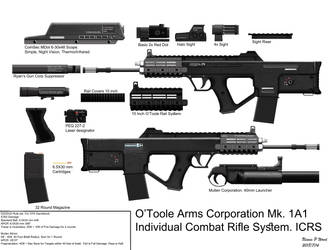 O'Toole Arms Corporation Mk.1A1 ICRS