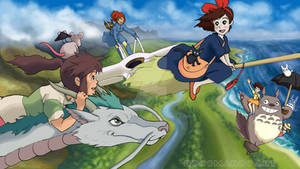 Ghibli Girls