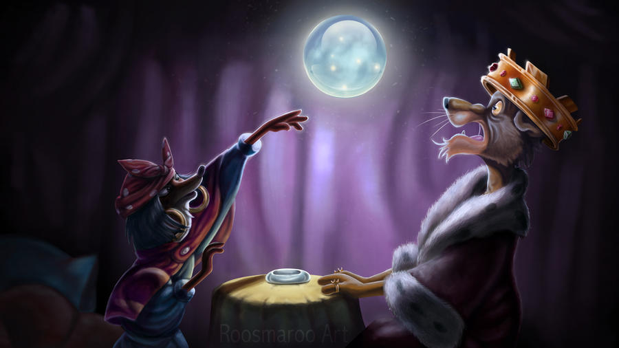 Robin Hood Redraw by RoosmaRoo