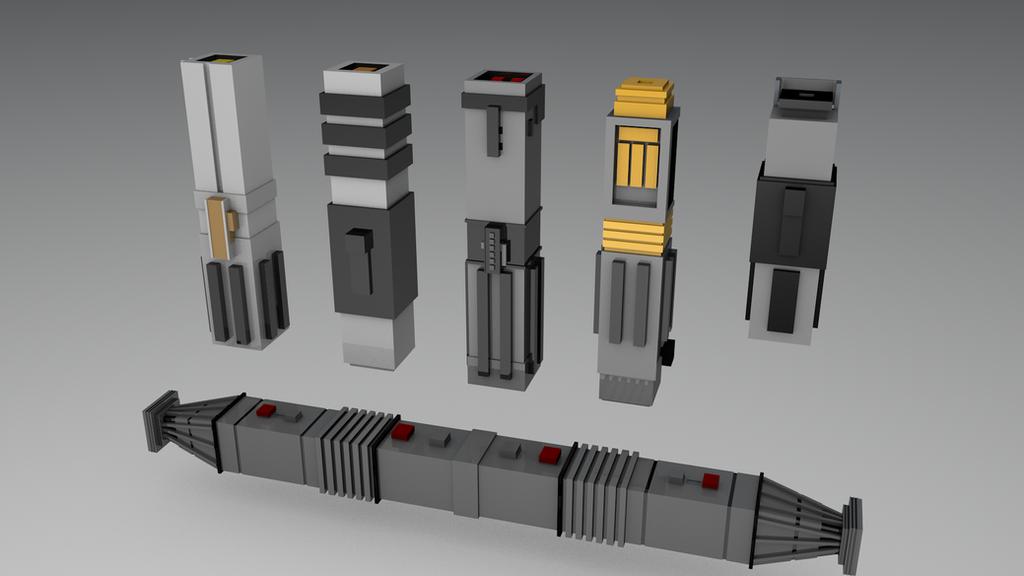 Cinema 4d minecraft модели
