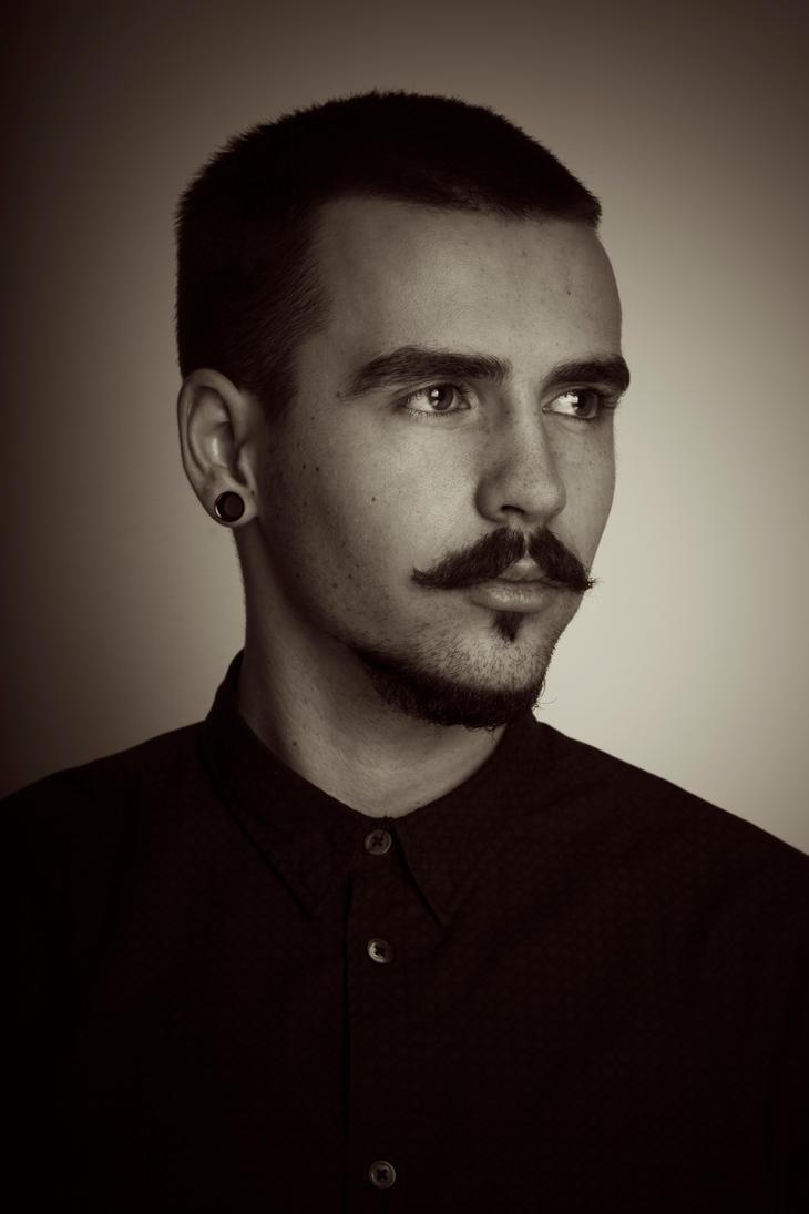 moustache by dorguska