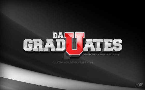 DaGradUate$ 3D Logo