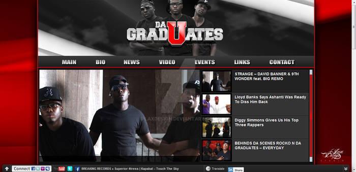 DaGradUates Web Banner