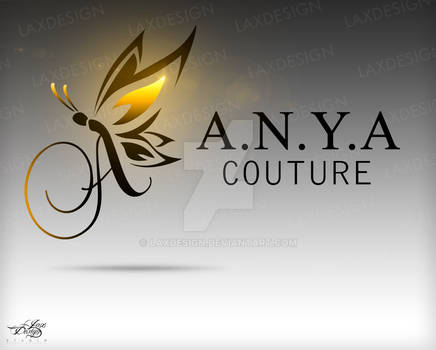 A.N.Y.A Couture Logo Design