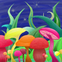 Mushrooms by Avarkaliel