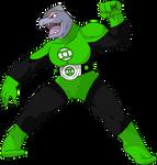 Machoke - Lanterna Verde
