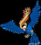 Irmao Pidgeot - Lanterna Azul