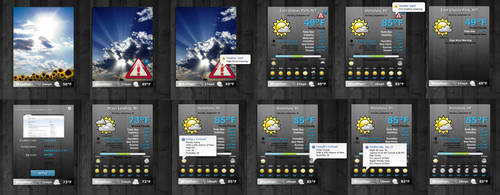Live Weather Widget from warriah skin. by simPac