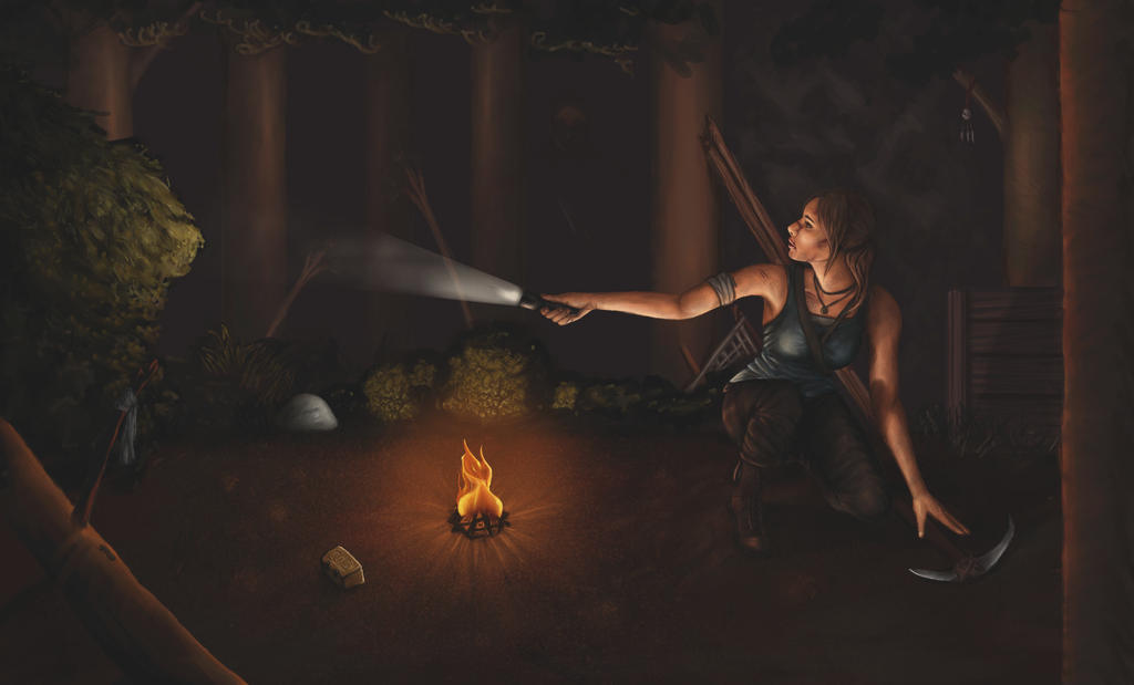 Tomb Raider 2013 by Dragonavicious