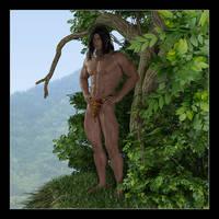 Tarzan's jungle by CitizenOlek