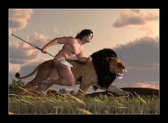 Tarzan and Numa EL Adrea by CitizenOlek