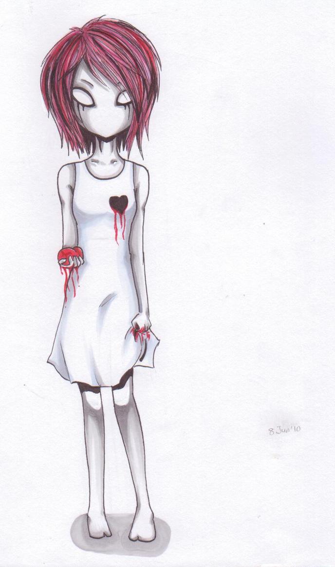 :Give you my heart: by Kurai-Fuyu