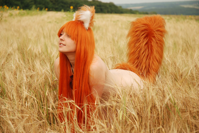 Spice and wolf nude cosplay