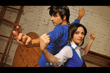 Jackie Chan Adventures cosplay by MilenaHime